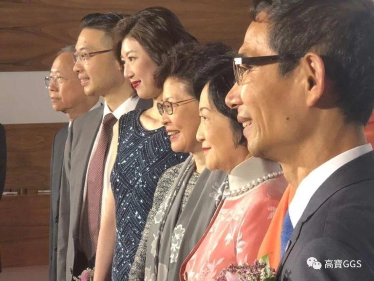 韓世灝博士出席新民黨黨慶晚宴